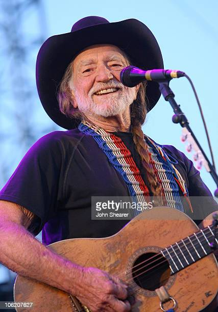 Willie Nelson during The Inaugural Stagecoach Country Music Festival - Day 1 at Empire Polo Field in Indio, California, United States.