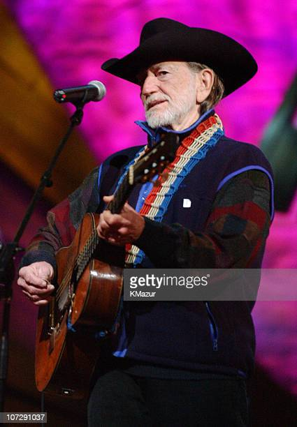Willie Nelson during Willie Nelson and Friends Live and Kickin' Premiers on USA Network on May 26 2003 Rehearsal and Backstage at Beacon Theatre in...
