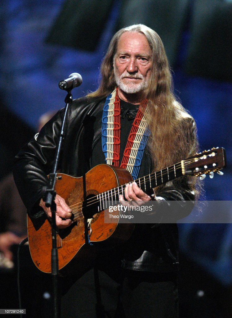 Willie Nelson during 'Willie Nelson and Friends: Live and Kickin'' Premieres on USA Network May 26, 2003 - Show at Beacon Theatre in New York City, New York, United States.