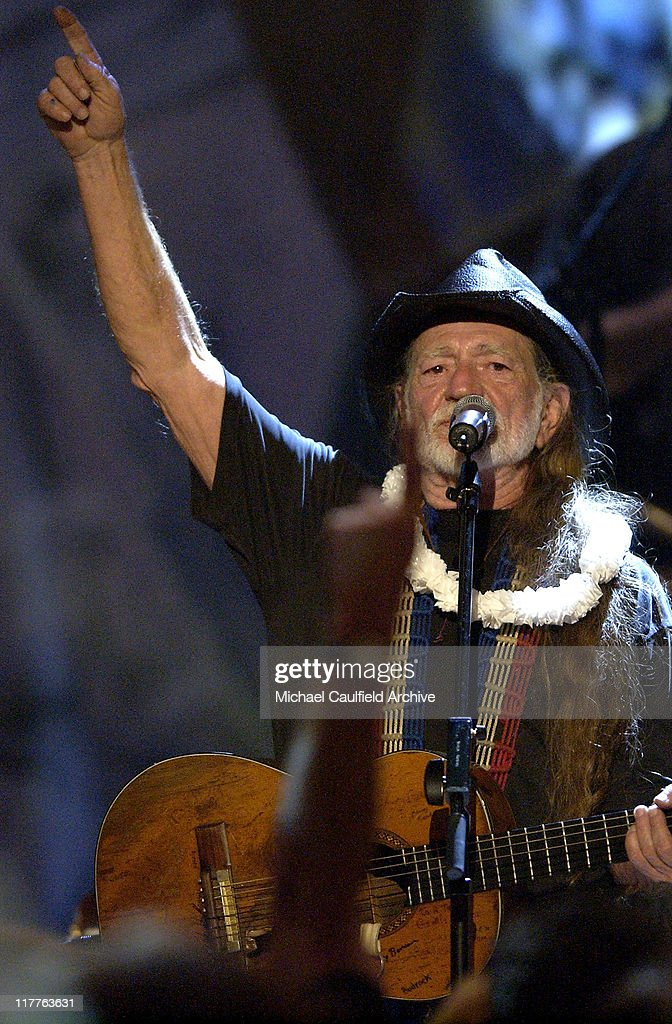 Willie Nelson during Willie Nelson and Friends: 'Outlaws & Angels' - Show and Backstage at Wiltern Theatre in Los Angeles, California, United States.