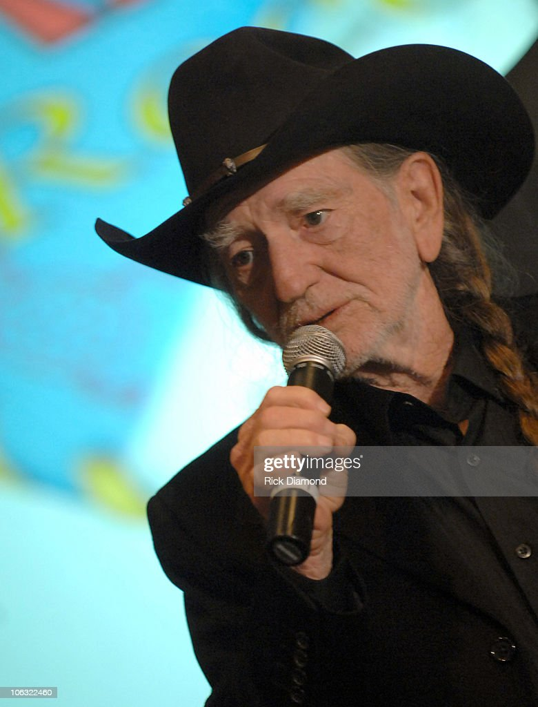 Willie Nelson during Willie Nelson Announces The Launch of Pedernales Records - March 16, 2007 at Four Seasons Hotel, Austin in Austin, Texas, United States.