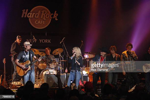 Willie Nelson Friend's and Family preform live to help The Launch of the Sustainable Biodiesel Alliance at the Hard Rock Cafe in New York City on...