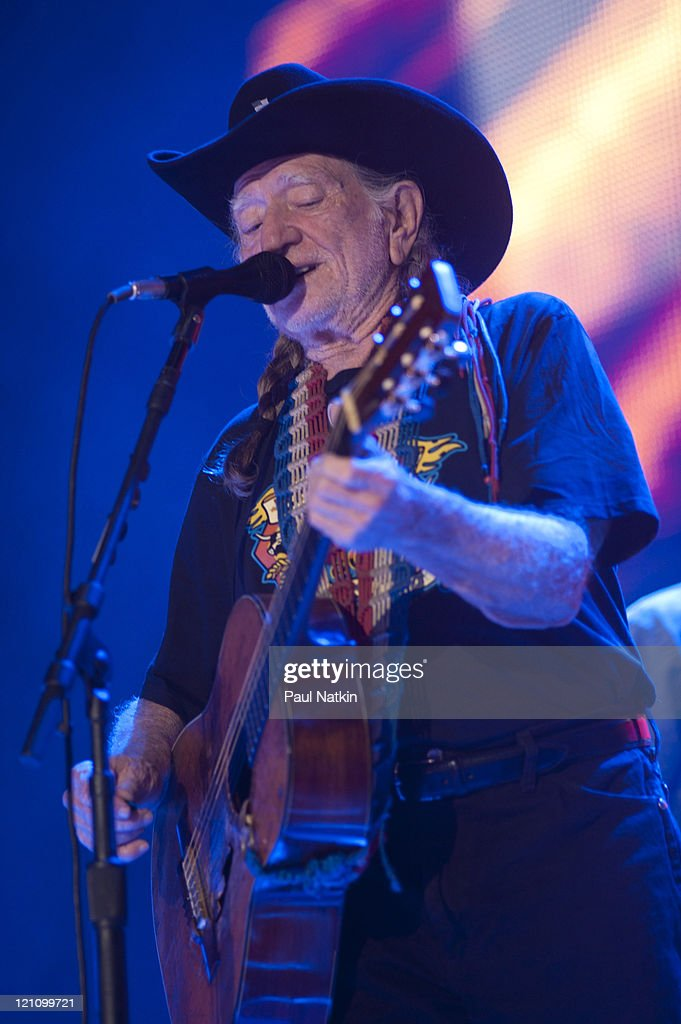 Willie Nelson performs during Farm Aid 2011 at the LiveStrong Sporting Park on August 13, 2011 in Kansas City, Kansas.