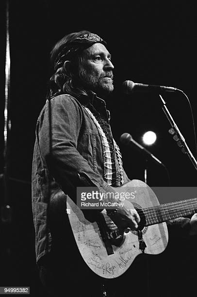 Willie Nelson performs live at The Circle Star Theatre in 1974 in Palo Alto California