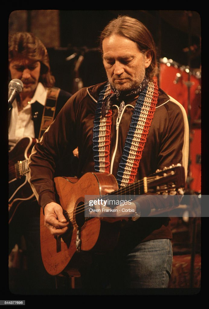 Willie Nelson Playing at Rockefeller Center : News Photo
