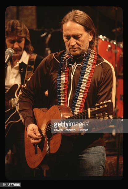 Willie Nelson Playing at Rockefeller Center