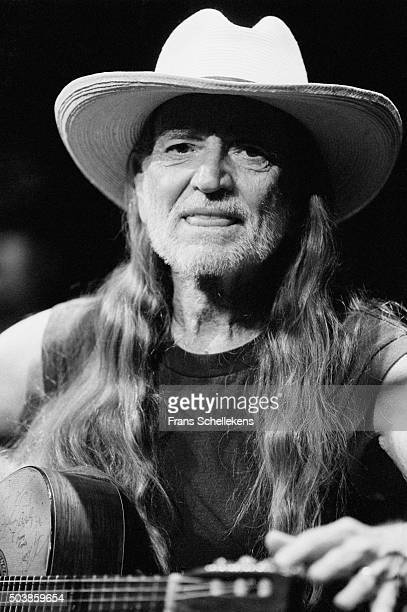 Willie Nelson, vocals and guitar, performs at the Paradiso on April 20th 1996 in Amsterdam, the Netherlands.