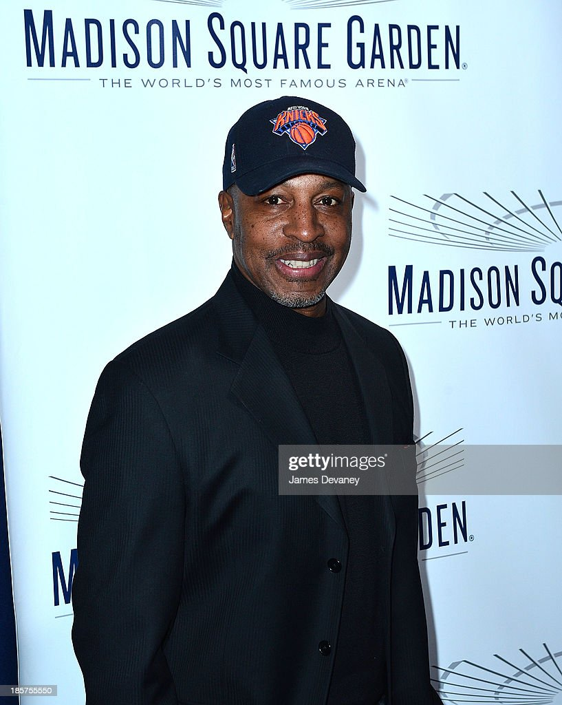 Willie Randolph attends Madison Square Garden transformation unveiling at Madison Square Garden on October 24, 2013 in New York City.