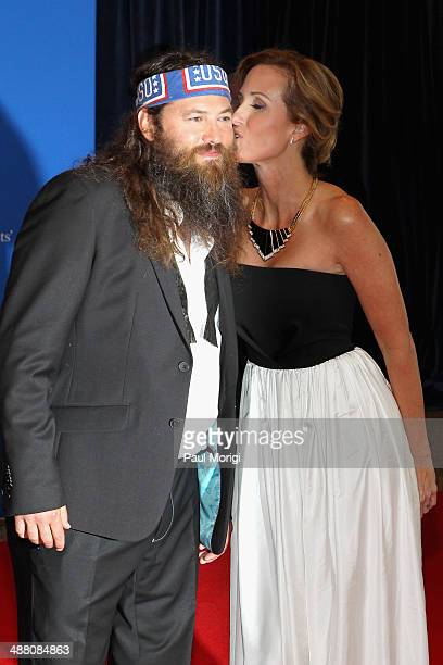 Willie Robertson and Korie Robertson attend the 100th Annual White House Correspondents' Association Dinner at the Washington Hilton on May 3 2014 in...