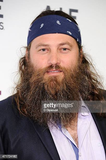 Willie Robertson attends AE Network's 2015 Upfront at Park Avenue Armory on April 30 2015 in New York City