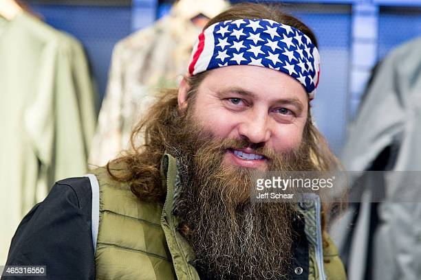 Willie Robertson attends Under Armour opens largest brand house on Chicago's Magnificent Mile at Under Armour Chicago on March 5th 2015 in Chicago...
