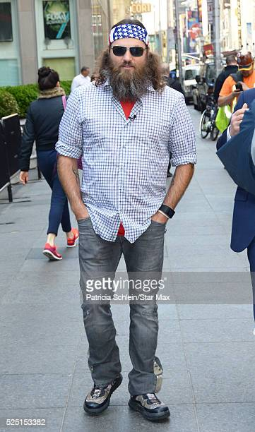 Willie Robertson is seen on April 27 2016 in New York City