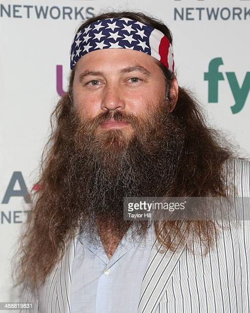 Willie Robertson of Duck Dynasty attends the 2014 AE Networks Upfronts at Park Avenue Armory on May 8 2014 in New York City