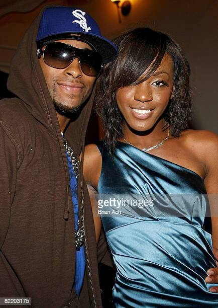 Willie Taylor of Day 26 and Dawn Richard of Danity Kane celebrate Dawn Richard's birthday at Philippe in on August 6 2008 in New York City
