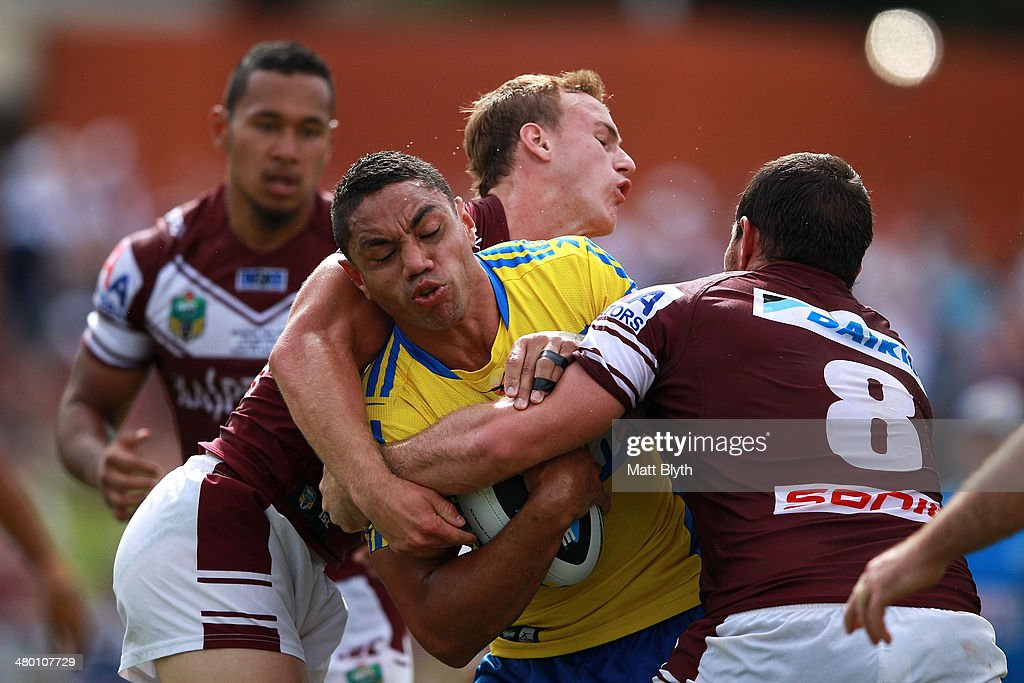 NRL Rd 3 - Sea Eagles v Eels