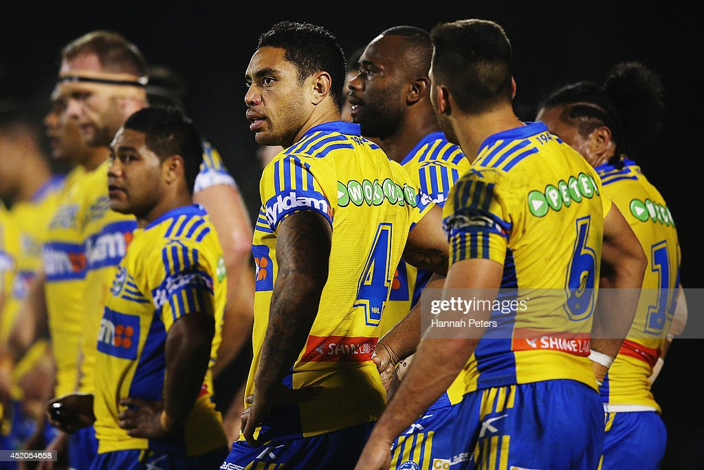 NRL Rd 18 - Warriors v Eels