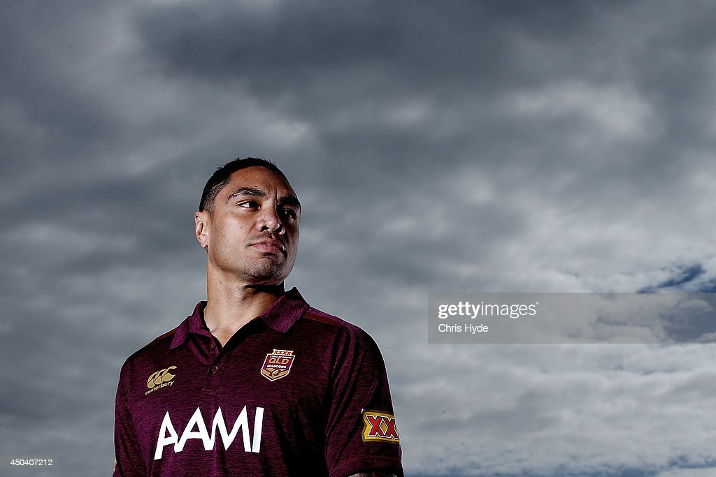 Queensland Maroons Media Session