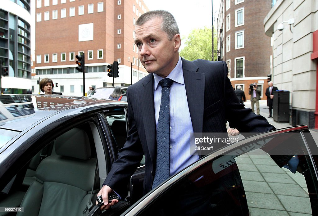 Willie Walsh, the Chief Executive of British Airways, leaves the Department of Transport after holding talks with the Transport Secretary Philip Hammond in a bid to avert a proposed strike by BA cabin crew on May 17, 2010 in London, England. BA cabin crew are planning four five-day strikes, the first of which is due to begin tomorrow, in a protest over changes to working conditions. British Airways are also questioning the legality of the BA cabin crew members by their union Unite and are seeking a High Court injunction to prevent the industrial action.