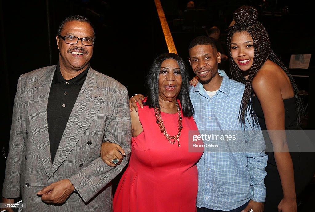 Celebrities Visit Broadway - May 29, 2015 : News Photo