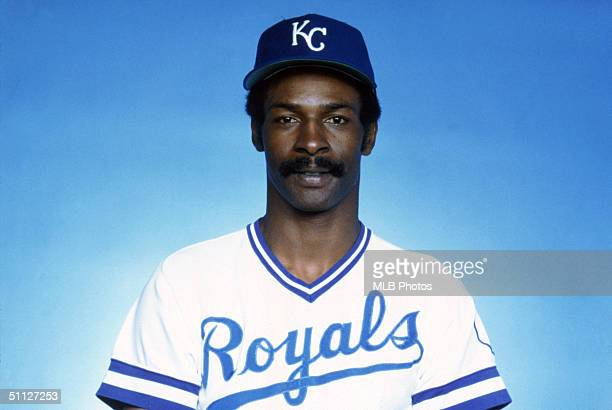 Willie Wilson of the Kansas City Royals poses for a portrait. Willie Wilson played for the Royals from 1976-1990.