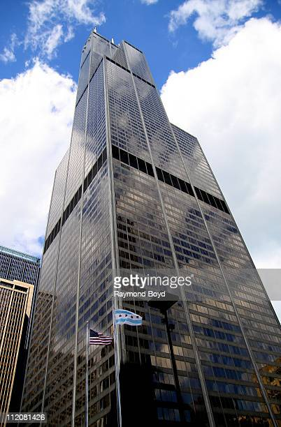 Willis Tower in Chicago Illinois on APR 01 2011