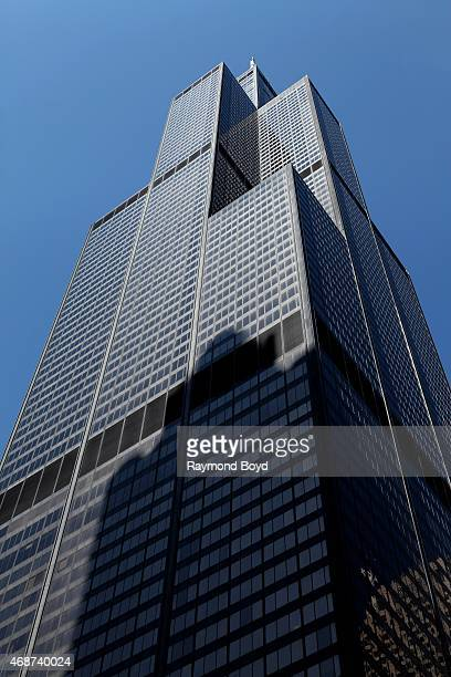 Willis Tower on April 4 2015 in Chicago Illinois