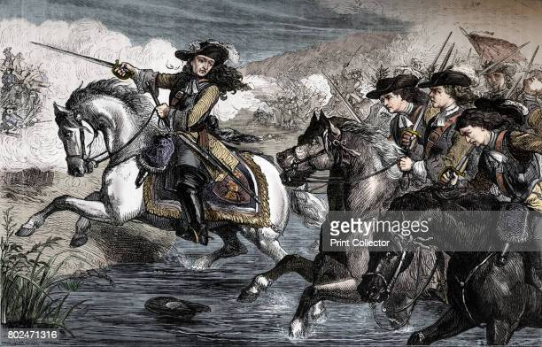 Willliam III At the Boyne' The Battle of the Boyne was a battle in 1690 between the English King James II and the Dutch Prince William of Orange who...