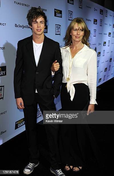 Willoughby Robinson and Sophie Windham arrive at The Rum Diary premiere presented by Film Independent at LACMA held at the Los Angeles County Museum...