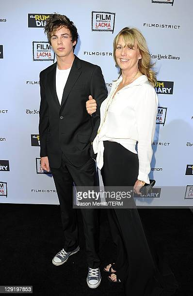 Willoughby Robinson and Sophie Windham arrive at 'The Rum Diary' premiere presented by Film Independent at LACMA held at the Los Angeles County...