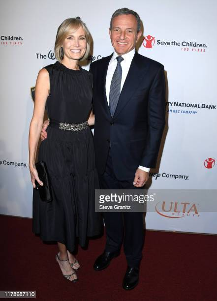 Willow Bay and Bob Iger arrives at the Save the Children's Centennial Celebration Once In A Lifetime Presented By The Walt Disney Company at The...