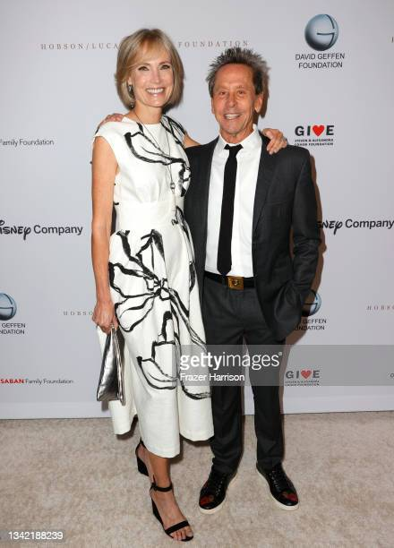 Willow Bay and Brian Grazer attend YES 20th Anniversary Celebration Honoring Willow Bay and Bob Iger at The Maybourne Beverly Hills on September 23,...