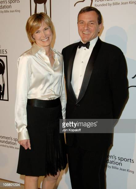 Willow Bay and husband Robert Iger during 1st Annual The Billies Awards Arrivals at Beverly Hilton Hotel in Beverly Hills California United States