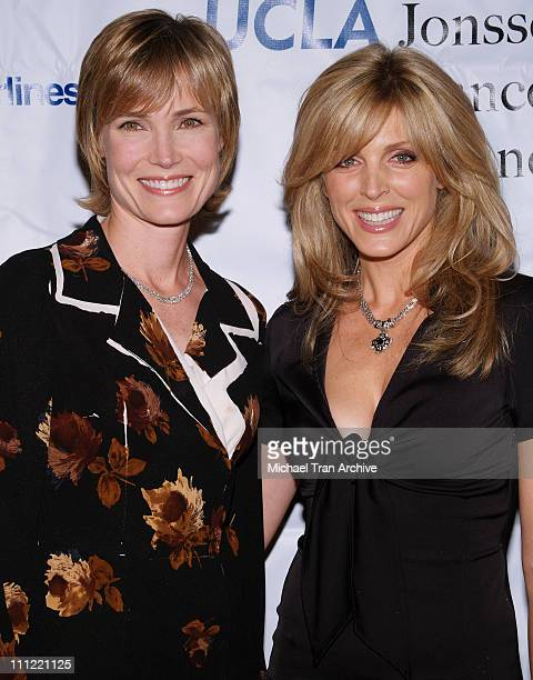 Willow Bay and Marla Maples during Jonsson Cancer Center Benefit at Regent Beverly Wilshire in Beverly Hills California United States