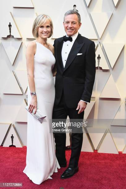 Willow Bay and Robert Iger attend the 91st Annual Academy Awards at Hollywood and Highland on February 24 2019 in Hollywood California