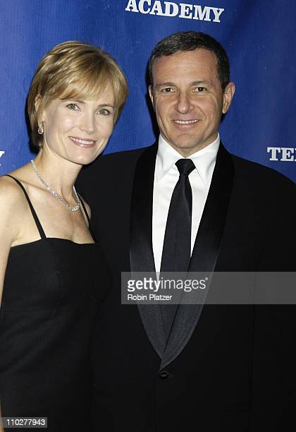Willow Bay and Robert Iger CEO of The Walt Disney Corporation