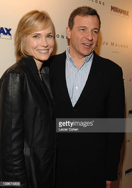 Willow Bay and Robert Iger during Miramax Films and British Fragrance House Jo Malone Join to Celebrate 2007 OscarNominated Films The Queen and Venus...