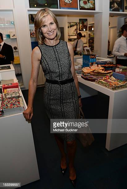 Willow Bay attends the Director's Circle Celebration of WEAR LACMA Inaugural Designs by Johnson Hartig For Libertine And Gregory Parkinson at LACMA...