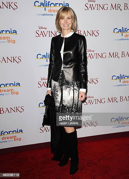 Willow Bay attends the premiere of 'Saving Mr Banks' at Walt Disney Studios on December 9 2013 in Burbank California