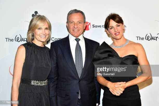 Willow Bay Bob Iger and Jennifer Garner attend Save The Children's Centennial Celebration Once In A Lifetime at The Beverly Hilton Hotel on October...