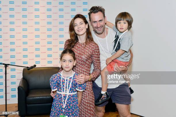 Willow Katherine White Michelle Monaghan Peter White and Tommy Francis White attend Hammer Museum KAMP 2017 on May 21 2017 in Los Angeles California