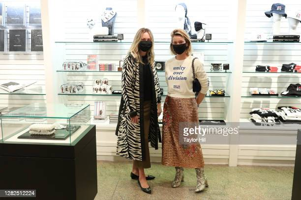 Willow Lindley and Hildy Kuryk attend the press preview for the Costume Institute's annual exhibition About Time Fashion and Duration sponsored by...