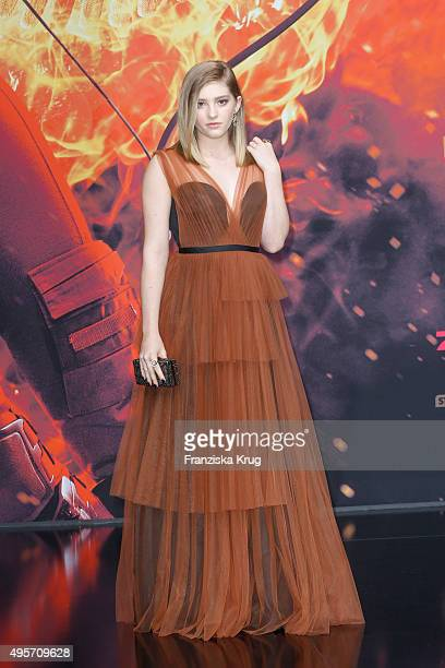 Willow Shields attends The Hunger Games Mockingjay Part 2 world premiere on November 04 2015 in Berlin Germany