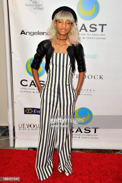 Willow Smith arrives at the Coalition To Abolish Slavery and Trafficking's 15th Annual From Slavery to Freedom gala at the Sofitel Hotel on May 9...