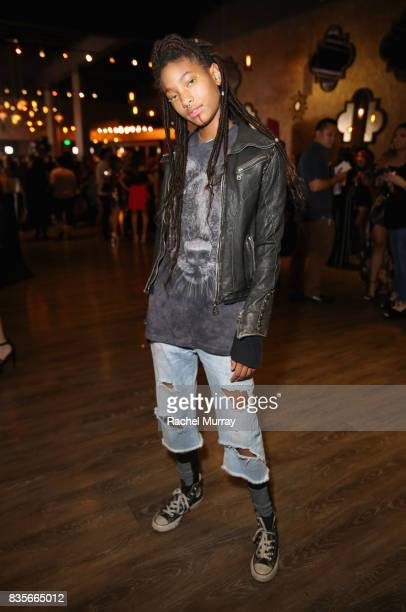 Willow Smith at the 2017 NYX Professional Makeup FACE Awards at The Shrine Auditorium on August 19 2017 in Los Angeles California