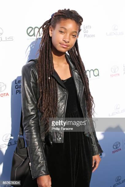 Willow Smith at the Environmental Media Association's 27th Annual EMA Awards at Barkar Hangar on September 23 2017 in Santa Monica California