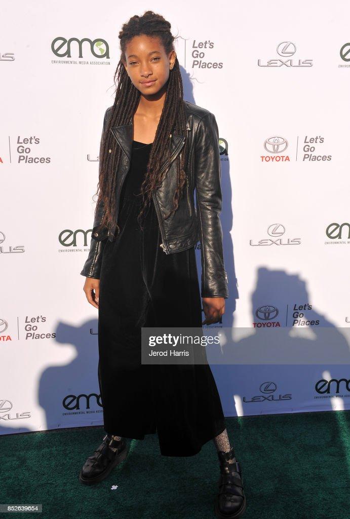 Willow Smith at the Environmental Media Association's 27th Annual EMA Awards at Barkar Hangar on September 23, 2017 in Santa Monica, California.