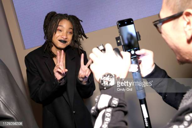 Willow Smith attends Stuart Weitzman Spring Celebration 2019 on February 12 2019 in New York City