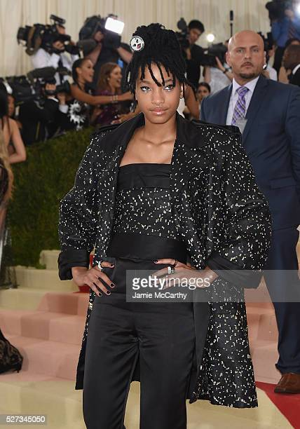 Willow Smith attends the 'Manus x Machina Fashion In An Age Of Technology' Costume Institute Gala at Metropolitan Museum of Art on May 2 2016 in New...