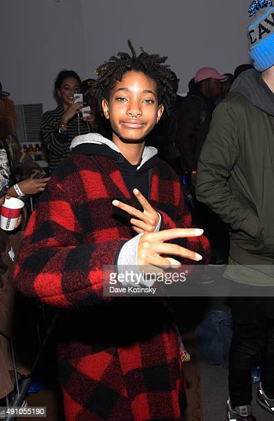 Willow Smith attends vitaminwater and The Fader unite to HYDRATE THE HUSTLE for the fifth anniversary of #uncapped concert series on October 2 2015...