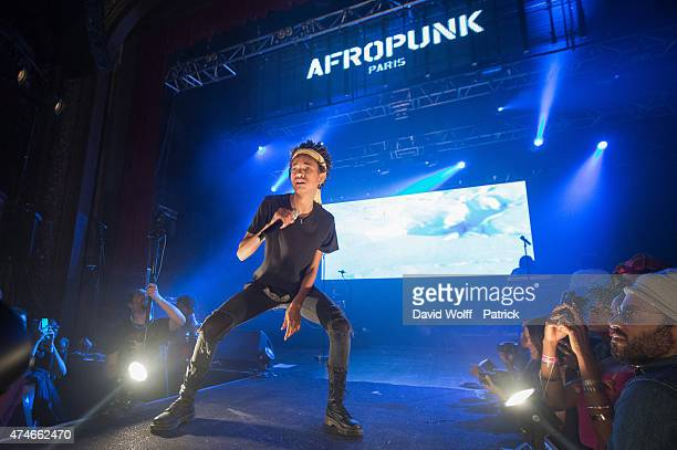 Willow Smith performs at Afropunk Festival at Le Trianon on May 24 2015 in Paris France